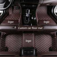 Kalaisike Personnalisé tapis de sol de voiture pour BMW tous les modèles X3 X1 X4 X5 X6 Z4 f30 f10 f11 f25 f15 f34 e83 e70 e53 g30 e34 e46 e90 e60 e84