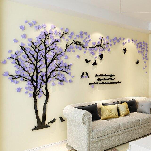 3D Tree Acrylic Wall Stickers 3