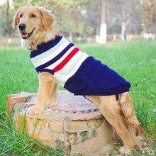 Большой свитер для собак лабрадор, золотистый ретривер, джемпер, вязаные свитера для больших собачий пуловер, одежда, зимние свитеры для домашних животных, собака#8-#28