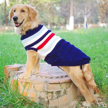 Large Dog Sweater Labrador Golden Retriever Jumper Knitted Sweaters For Big Dog Pullover Clothes Winter Pet Sweater Dog #8-#28 цена 2017