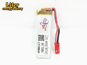 20PCS/LOT 3.7V 700mAh 721855 25c lithium polymer Lipo battery For Udi U815A U818A U819A WLtoys V929 v949 v959 v212 v222