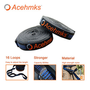 Image 2 - Acehmks Aluminum Alloy Snap Hammocks For 2 Person Sleeping Bed Outdoor Camping Swing Portable Ultralight Design 300*200 CM