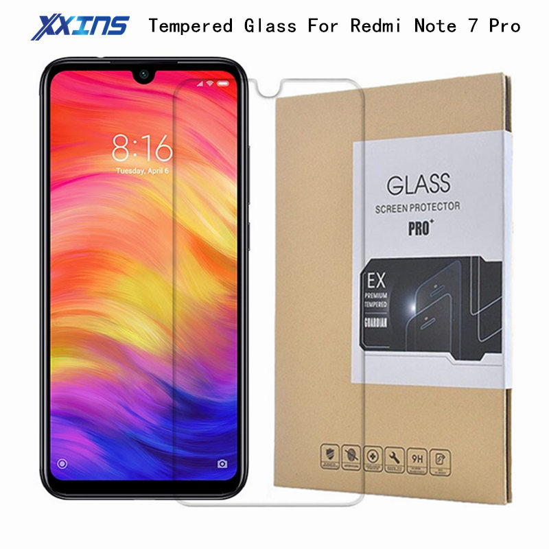 Tempered GLASS For <font><b>Xiaomi</b></font> Redmi Note 7 Pro <font><b>6GB</b></font> <font><b>128GB</b></font> Telephone Snapdragon 675 6.3 inch Note7pro Smartphone Screen Protector image