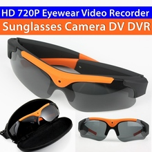 Wholesale prices New Fashion Polarized Sunglasses with Camera Car Driving Outdoor HD 720P 1280×720 5MP Mini DVR Digital Sunglasses Camera