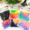 300pcs Pack Rubber Rope Ponytail Holder Elastic Kids Hair Bands Ties Braids Plaits Hair Clip Hair