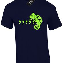 259caa7de COMMA CHAMELEON MENS T SHIRT PARODY SPOOF MUSIC LIZARD GRAMMAR PUN BOY  GEORGE New T Shirts