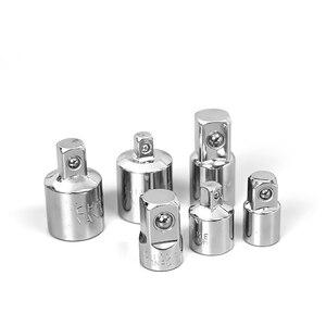 """Image 3 - Adaptador de llave de carraca de 1/4 """", 3/8"""" y 1/2 """"adaptador de funda de acero al cromo y vanadio"""