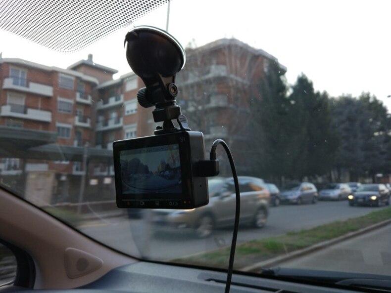 For Original Xiaomi Car DVR Holder Bracket Black Transparent Sucker Super Suction Xiaoyi Yi Car GPS DVR Holder