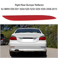 Red Lens Right Rear Bumper Reflector Warn Fog  Light for BMW E60 E61 520d 520i 523li 525li 530li 2008-2010 OEM63147183914