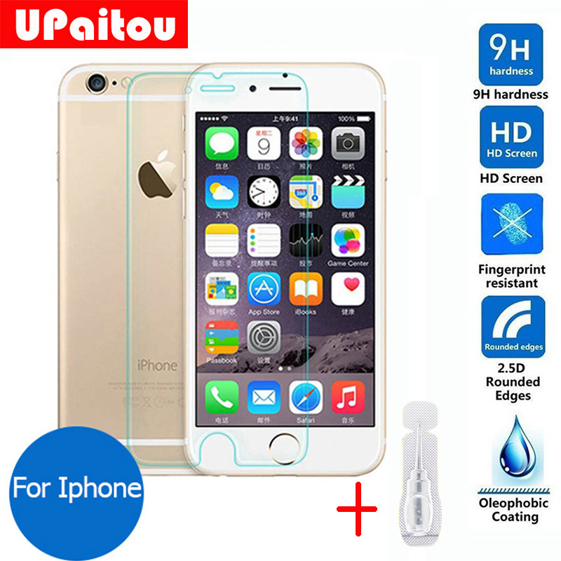 For Apple iphone 6 Plus 6s Plus Tempered glass Screen Protector 2.5 9h Safety Protective Film on 6s Plus / 6 Plus 5.5″inch