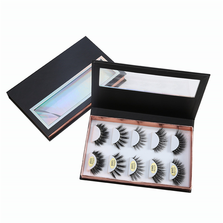 New Empty Eyelash Box 1PC Empty False Eyelash Storage Case Eyelash Box Container Holder Compartment Tool Makeup Tool Dec12#30