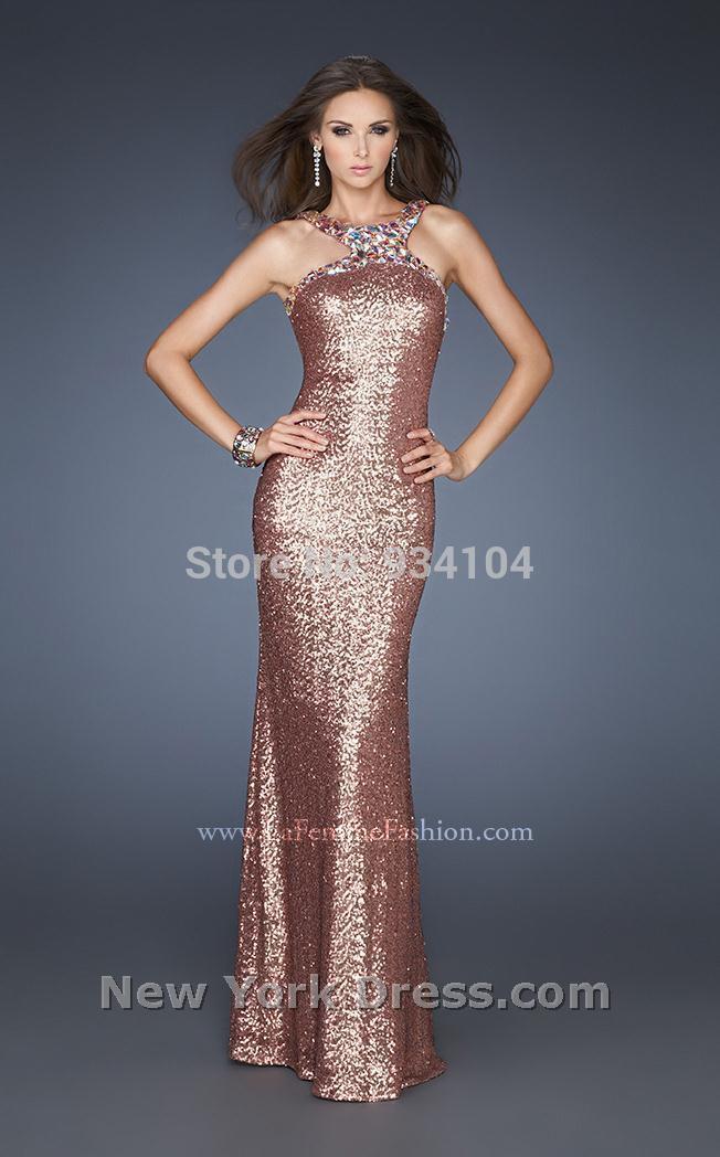 Aliexpress.com Comprar La Prom tienda de ropa viejo Hollywood vestidos largos negros de ee.uu. de la piso longitud ninguno sujetador incorporado Crystal