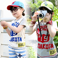 T-shirts 2017 summer children t shirts letter print baby girls boys clothes child short-sleeve girl t shirt casual top,zc