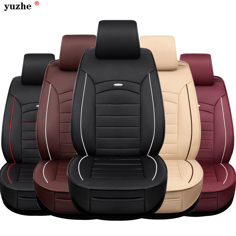 Yuzhe leather car seat cover For Nissan Qashqai Note Murano March Teana Tiida Almera X trai juke car accessories styling cushion