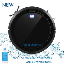 Vacuum Cleaning Robot Vacuum Cleaner QQ9 With Smart Navigation Smartphone WIFI Mapping Visible,Big Water Tank upgrade from QQ6 for qq6 right wheel assembly for robot vacuum cleaner qq6