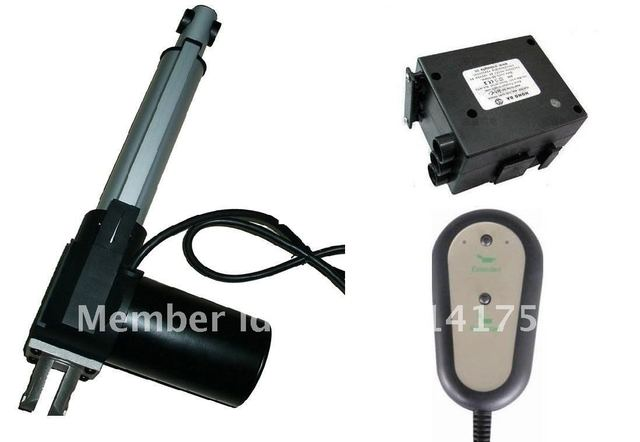 IP54 BEST QUALITY 12/24VDC 6000N linear actuator for electrical sofa and industry using with control box