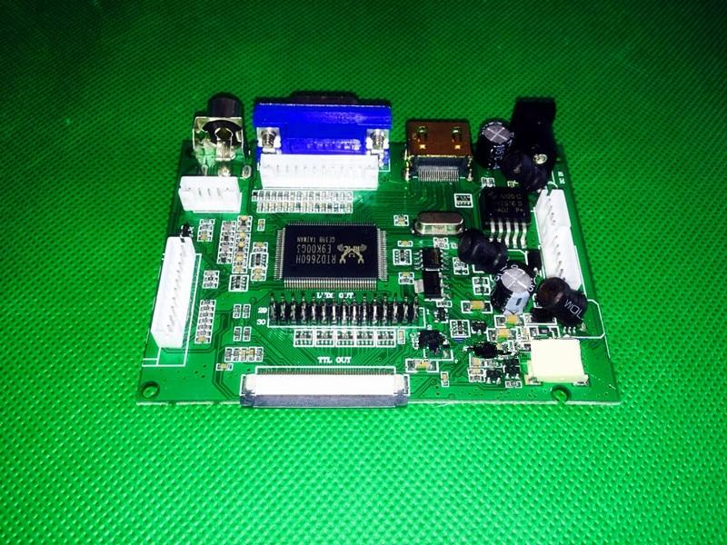 HDMI/VGA/AV Control placa + 8