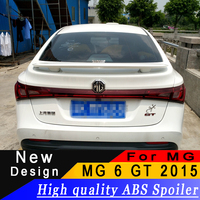 For MG 6 GT 2015 high quality ABS material spoiler Sedan universal rear spoiler Primer or any color
