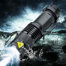 8000LM Q5 LED Flashlight 3 Modes Zoom LED