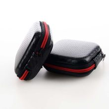 Mini Multifunction Earphones Storage Box Headset Data Line USB Cable SD Card Organizer Case Bag @LS FE03(China)
