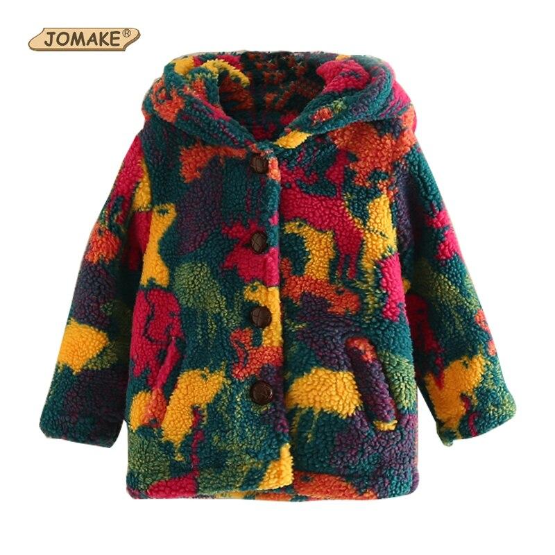 Aufrichtig Jomake Kinder Oberbekleidung 2018 Winter Marke Kinder Kleidung Bunte Camouflage Baby Mit Kapuze Woolen Mäntel Für Mädchen Jungen Mäntel