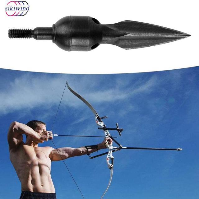 4pcs Crossbow High Carbon Steel Shoot Outdoor Hunting Archery  Arrow Heads Tips Bow Points Arrowheads for Compound Shooting-in Darts from Sports & Entertainment on Aliexpress.com   Alibaba Group