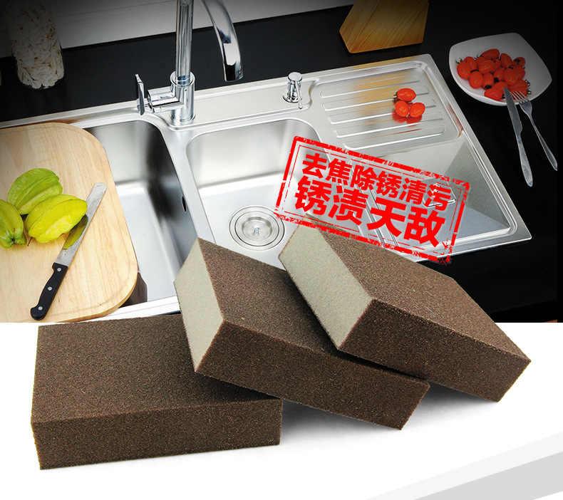 Suministros de cocina herramientas esponja mágica cepillo de limpieza plato tazón de lavado esponja sartén ventana vidrio Oficina Baño limpieza accesorio