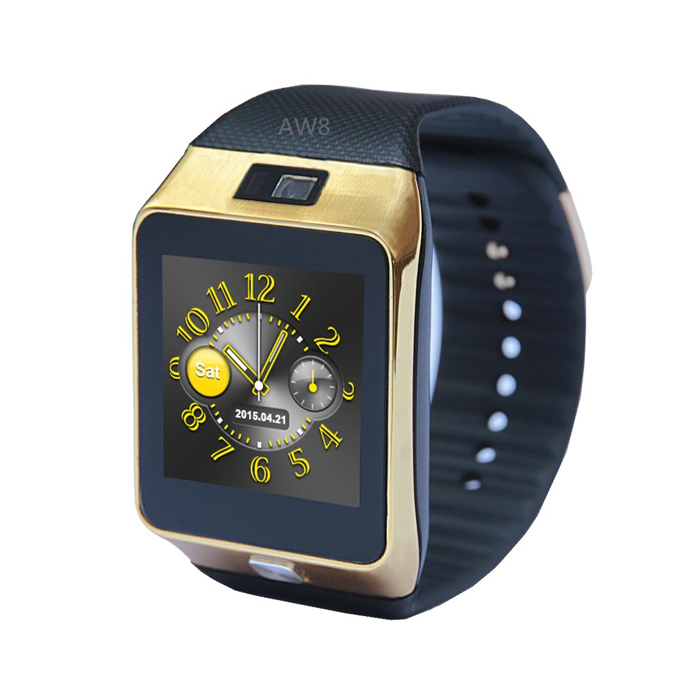 AW8 Smart Watch Support Camera Pedometer FM Radio Recording Audio Bluetooth Sync for Samsung Galaxy S7 S7 edge S6 edge Note 5 4 цена и фото