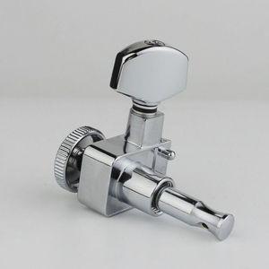 Image 5 - GUYKER 6R/6L Machine Heads no screws Locking Tuning Key Pegs Tuners Chrome