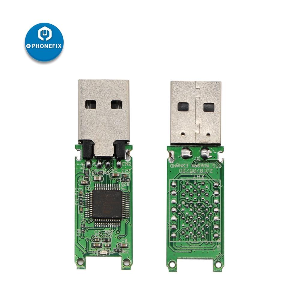 PHONEFIX DIY U Disk PCB USB 2.0 LGA70 Hynix NAND Flash For IPhone 6S 6SP 7 7P PCIE NAND Become Large Fast Speed U Disk