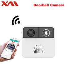 Mini Wireless WiFi Video Doorbell Camera Door bell Monitor Smart Camera Video Intercom Phone Intercom/Audio Free APP XM-IDS1