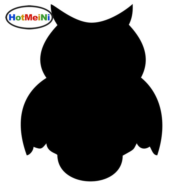 Image of: Facts Hotmeini Professional Production Colors Nocturnal Animals Owl Car Sticker Suv Window And All The Smooth Aliexpress Hotmeini Professional Production Colors Nocturnal Animals Owl Car