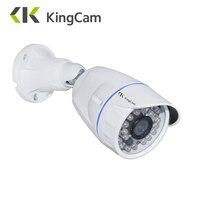KingCam FHD 720P POE Zinc Alloy Metal Anti Vandal Outdoor IP Camera IP66 With ONVIF Bullet