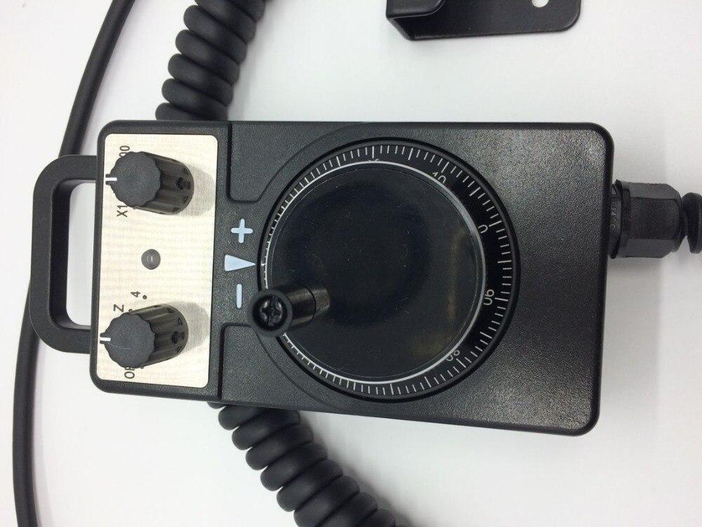 Volantino elettronico Pulse Router di CNC Mano Encoder 5 V 100PPR Per CNC ruota della macchina a mano all'ingrosso della fabbrica - 3