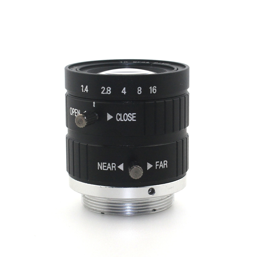 10MP 25mm HD Industrial Camera Fixed Manual IRIS Focus Zoom Lens C Mount CCTV Lens for CCTV Camera or Industrial Microscope-in CCTV Parts from Security & Protection    2
