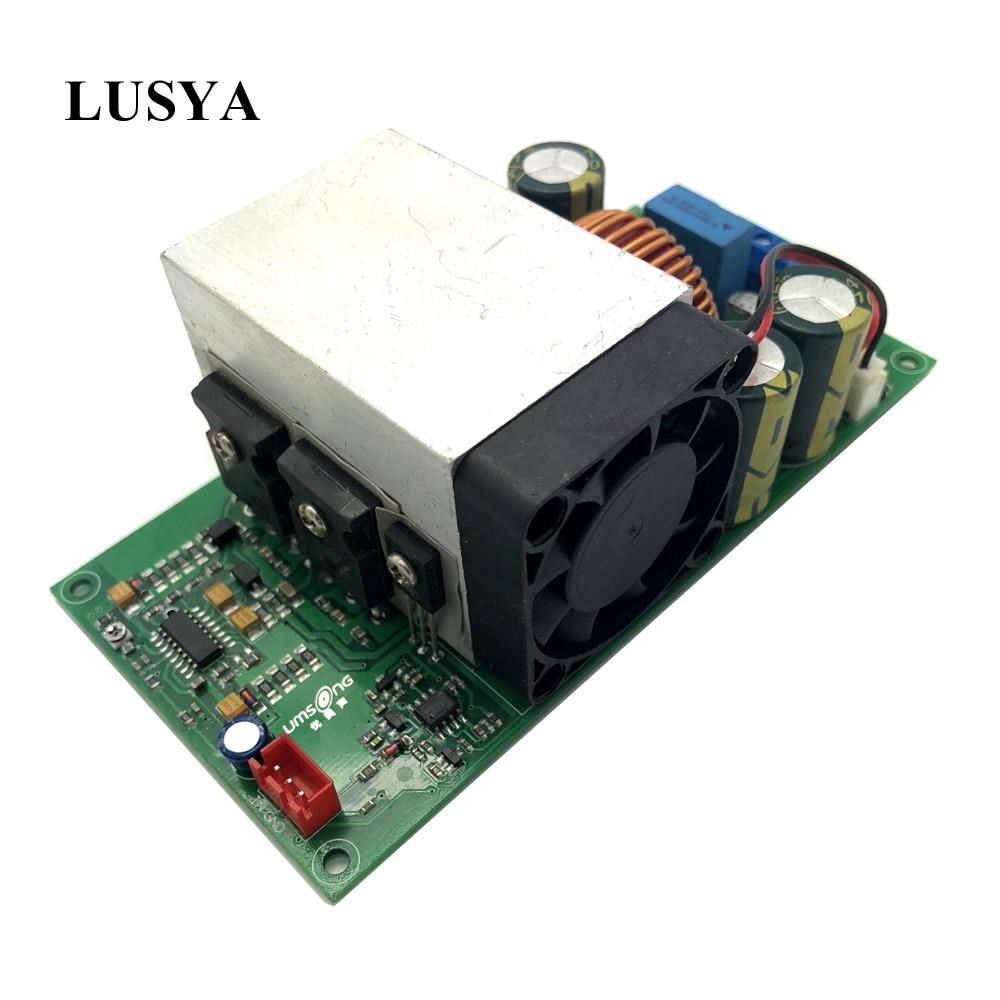 Lusya IRFP4227 IRS2092S HIFI 1000W Mono Stage Audio digital power amplifier board G1 002-in Amplifier from Consumer Electronics    1