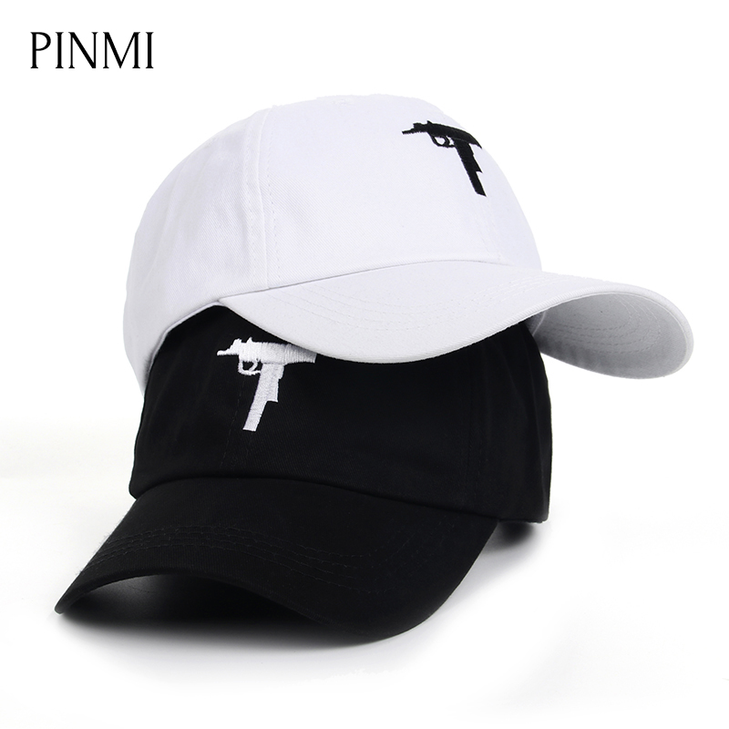PINMI Black Baseball Cap Men Cotton Embroidery Couple Snapback Caps Women High Quality Simple Dad Hat Cap Street Hip Hop Bone