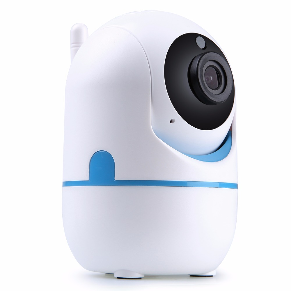 SANNCE 720P HD Smart Wireless IP Camera 1.0MP TWO-WAY Audible IR night vision PT Camera CCTV security wifi baby monitor howell wireless security hd 960p wifi ip camera p2p pan tilt motion detection video baby monitor 2 way audio and ir night vision