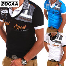 ZOGAA Brand New Men Polo Shirt Short Sleeve Casual Mens Polos Fashion Clothing Turn-down Collar For Male Tops