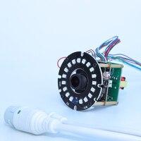 1080P H 265 264 POE IP Camera IR Module For Bullet