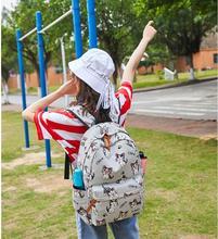 Cartoon Cat dog Backpack School Bags Sweet Girls Home Anime Cosplay Cute Cat Rucksack Schoolbag For Kids Gift цена