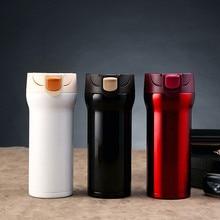 350 ML Edelstahl Thermos Tassen Thermocup Isolierte Becher Isolierflasche Garrafa Termica Thermo Kaffeetassen Reise Becher