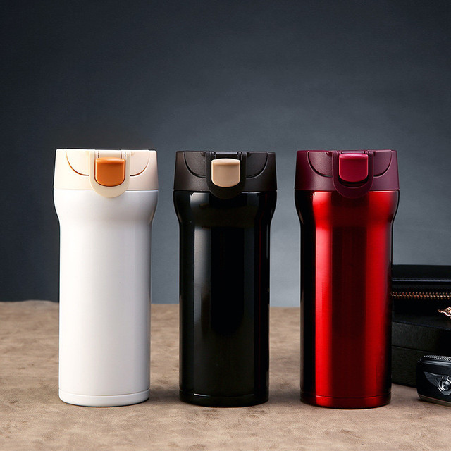 149b300d07d US $10.23 6% OFF|350ML Stainless Steel Thermos Cups Thermocup Insulated  Tumbler Vacuum Flask Garrafa Termica Thermo Coffee Mugs Travel Bottle  Mug-in ...