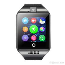 Q18 Smart Watch Bluetooth Smartwatch Phone dengan Camera TF / SIM Card Slot untuk Android Samsung Galaxy, HTC, LG, Huawei, Google Nexus