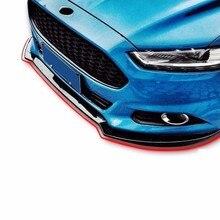Стильный протектор Coche авто-Стайлинг Авто формовочная Защита бампера автомобиля антиколлизия клей 13 14 15 16 17 18 для Ford Mondeo