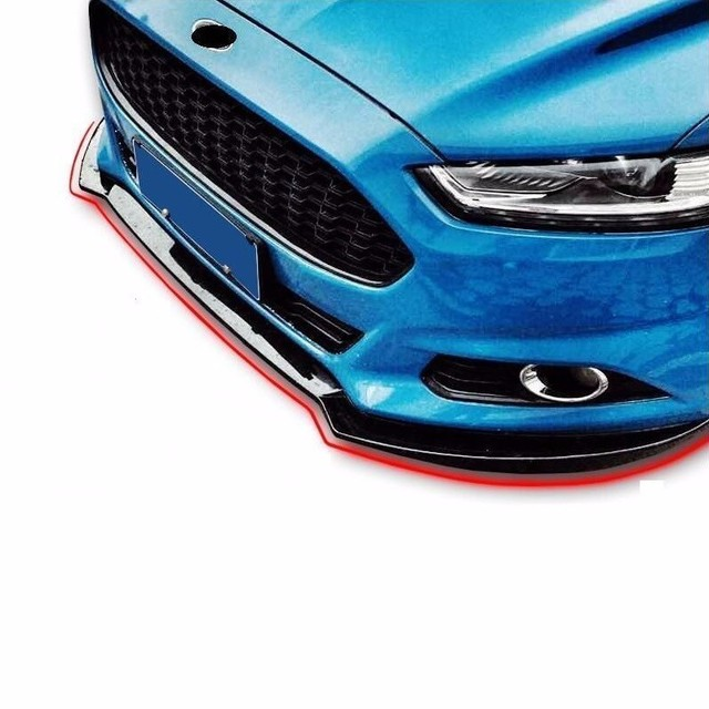 Style Protector Coche Car-styling Auto Molding Guard Bumper Car Anticollision Adhesive 13 14 15 16 17 18 FOR Ford Mondeo