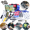 PDR Hooks Tools Paintless Dent Removal Tool Kit Push Rod Car Crowbar Reflector Board Pulling Bridge