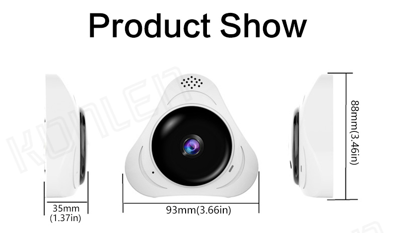 360° Panoramic IP Camera 08
