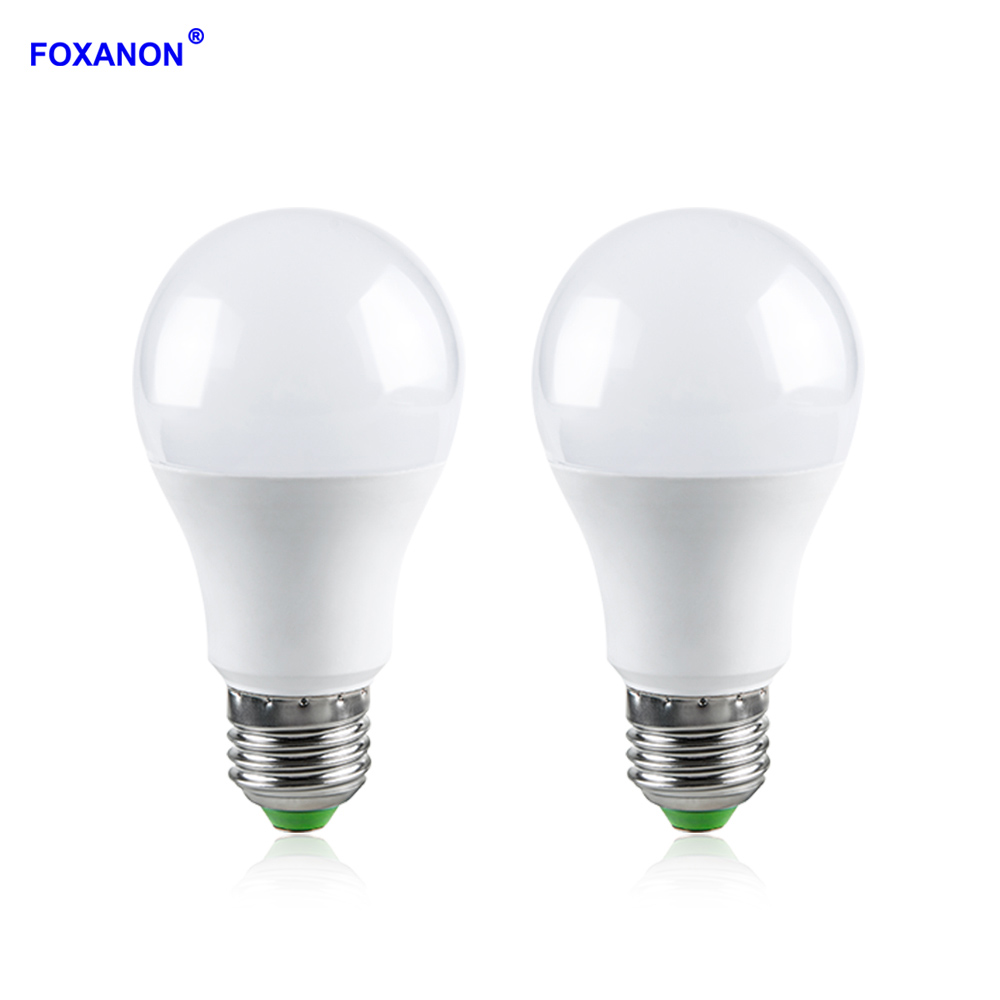 Foxanon 10W RGB LED Bulb Light AC 85 265V Led Lamp With 24Key Remote Controller Magic Colorful Night Lights For Home Party Decor