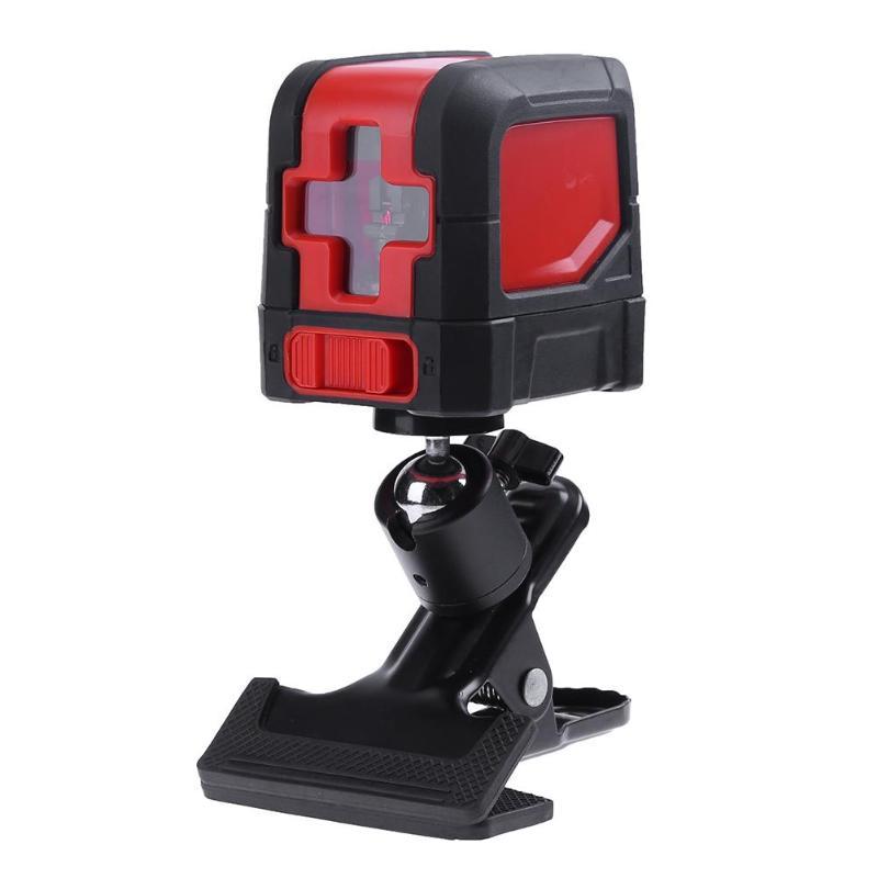 Лазерный уровень 2-линия high light литой линии инструментом Крест линии лазерный уровень для украшения интерьера красный свет лазерный уровень